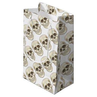Halloween Themed Cartoon Skull Small Gift Bag