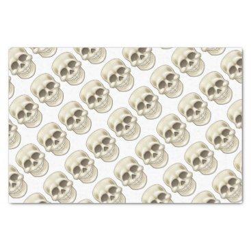 Halloween Themed Cartoon Skull Tissue Paper