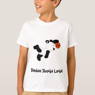 Cartoon Slam Dunking Panda T-Shirt
