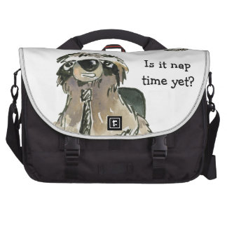 Cartoon Sloth Nap Time Bags For Laptop