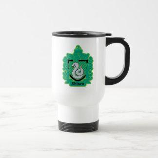 Cartoon Slytherin Crest Travel Mug