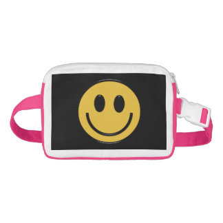Cartoon Smiley face Fanny pack