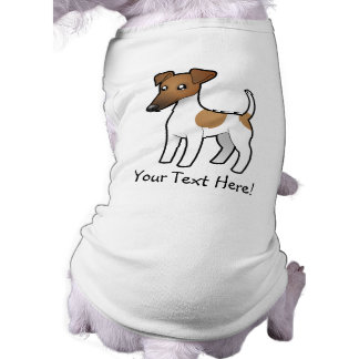 Cartoon Smooth Fox Terrier Shirt
