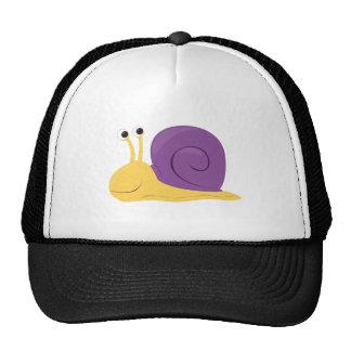 Cartoon Snail Trucker Hat