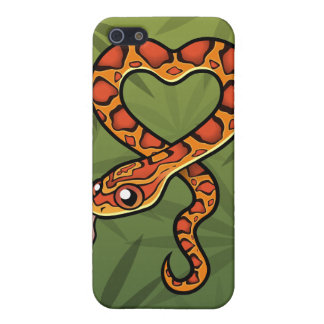 Cartoon Snake Case For iPhone SE/5/5s
