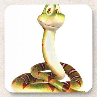 Cartoon Snake Coasters