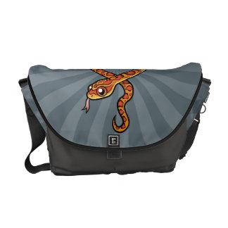 Cartoon Snake Courier Bag