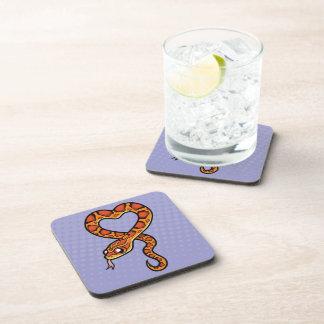 Cartoon Snake Drink Coaster