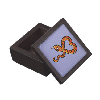 Cartoon Snake Jewelry Box