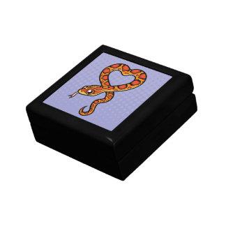 Cartoon Snake Keepsake Box