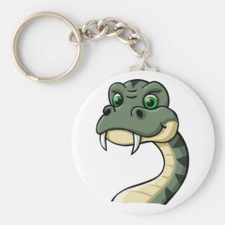 Cartoon Snake Keychain