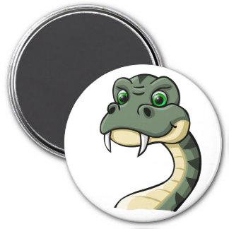 Cartoon Snake Fridge Magnet