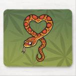 Cartoon Snake Mousepad