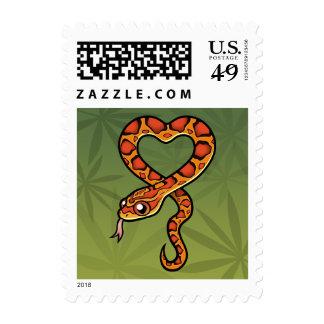 Cartoon Snake Postage