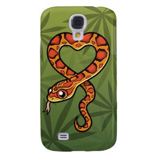 Cartoon Snake Samsung Galaxy S4 Cover