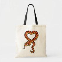 Cartoon Snake Tote Bag