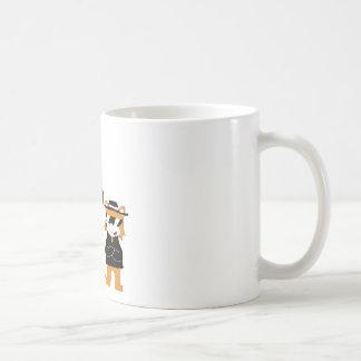 Cartoon Snoop Dogg And Jamie Fox Fans Classic White Coffee Mug