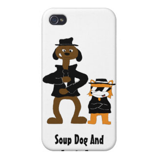 Cartoon Snoop Dogg And Jamie Fox Fans Covers For iPhone 4