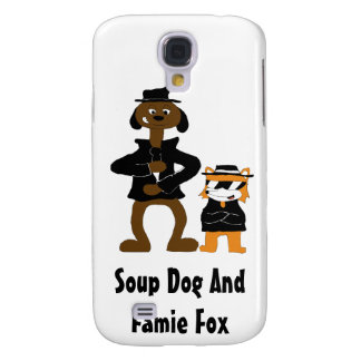 Cartoon Snoop Dogg And Jamie Fox Fans Galaxy S4 Covers