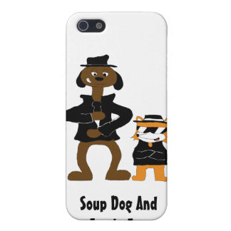 Cartoon Snoop Dogg And Jamie Fox Fans Covers For iPhone 5