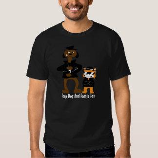 Cartoon Snoop Dogg And Jamie Fox Fans T Shirt