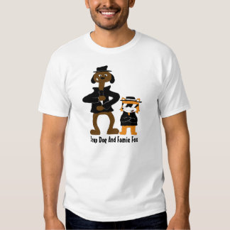 Cartoon Snoop Dogg And Jamie Fox Fans T-shirts