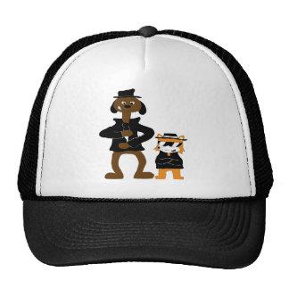 Cartoon Snoop Dogg And Jamie Fox Fans Trucker Hat