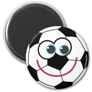 Cartoon Soccer Ball Refrigerator Magnets