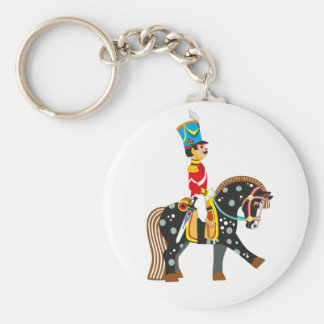 cartoon soldier keychain