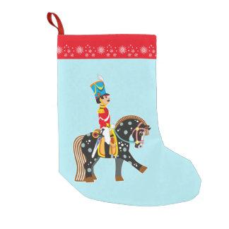 cartoon soldier small christmas stocking