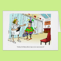 Cartoon - sorry about your accident. card