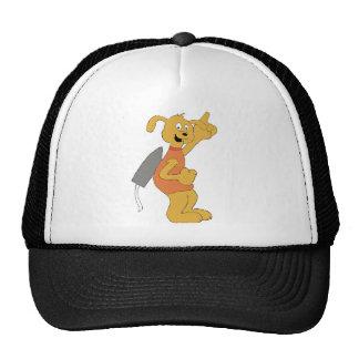 Cartoon Space Dog Mesh Hats