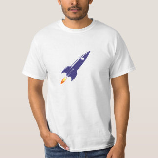 Cartoon Space Rocket Shirt