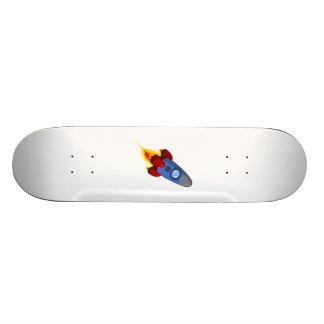 Cartoon Space Rocket Skate Boards