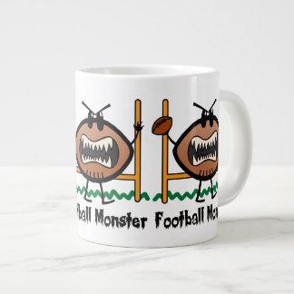 Cartoon Sports Clip Art Angry Mad Football Monster Giant Coffee Mug