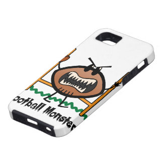 Cartoon Sports Clip Art Angry Mad Football Monster iPhone SE/5/5s Case