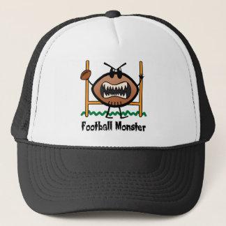 Cartoon Sports Clip Art Angry Mad Football Monster Trucker Hat