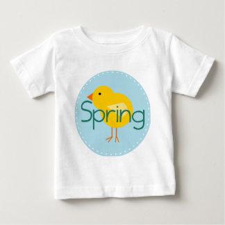 Cartoon Spring Bird Baby T-Shirt