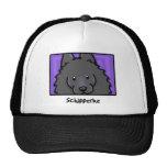 Cartoon Square Schipperke Hat