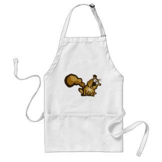 Cartoon Squirrel Apron