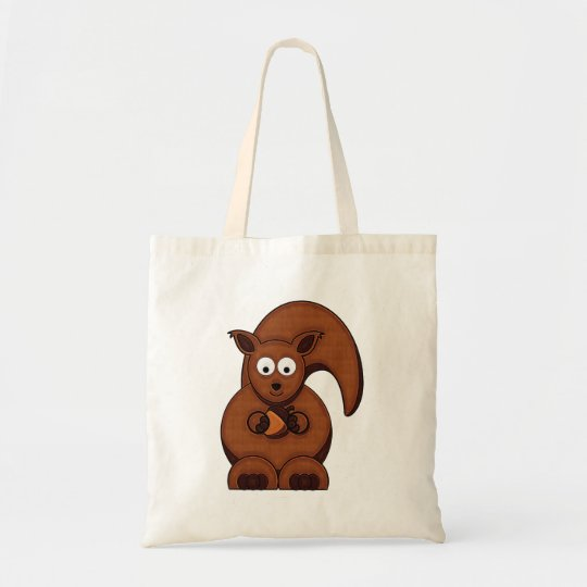 Cartoon Squirrel Bag