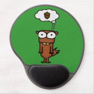 Cartoon Squirrel Gel Mouse Pad