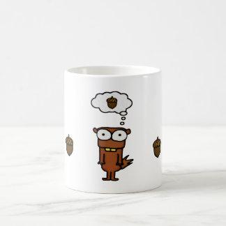Cartoon Squirrel Coffee Mug