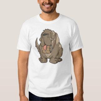 cartoon st bernard shirt
