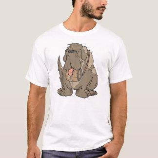 cartoon st bernard T-Shirt