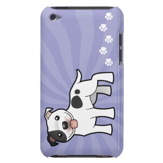 Cartoon Staffordshire Bull Terrier Barely There iPod Case