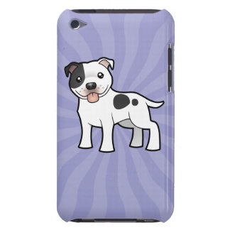 Cartoon Staffordshire Bull Terrier Barely There iPod Cover