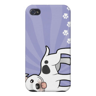 Cartoon Staffordshire Bull Terrier iPhone 4 Covers