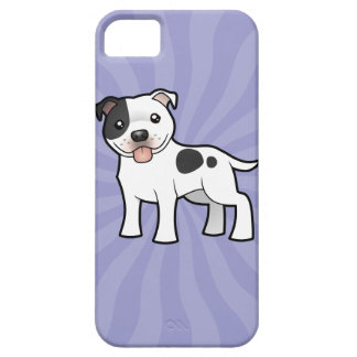 Cartoon Staffordshire Bull Terrier iPhone SE/5/5s Case