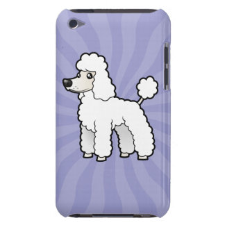 Cartoon Standard/Miniature/Toy Poodle iPod Touch Cases